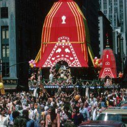 Первый фестиваль Ратха-ятры в Нью-Йорке