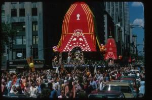 Джаянанда Прабху X — Ратха-ятра в Нью-Йорке, 1976 г.