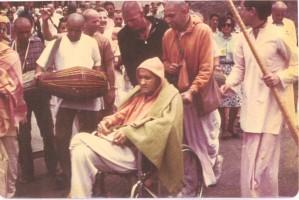 Последние фотографии Джаянанды за 4 дня до его ухода 1 мая 1977 г.