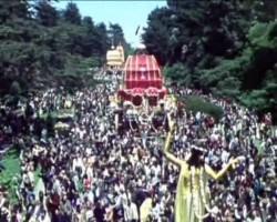 Ратха-ятра в Сан-Франциско 1971 г.