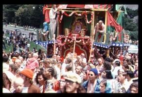 Ратха-ятра в Сан-Франциско 1974 г.