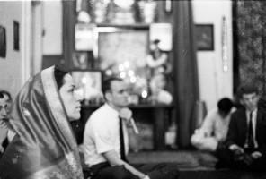 Ямуна и Джаянанда на лекции Шрилы Прабхапады