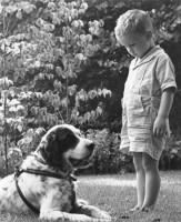 Джимми с собакой